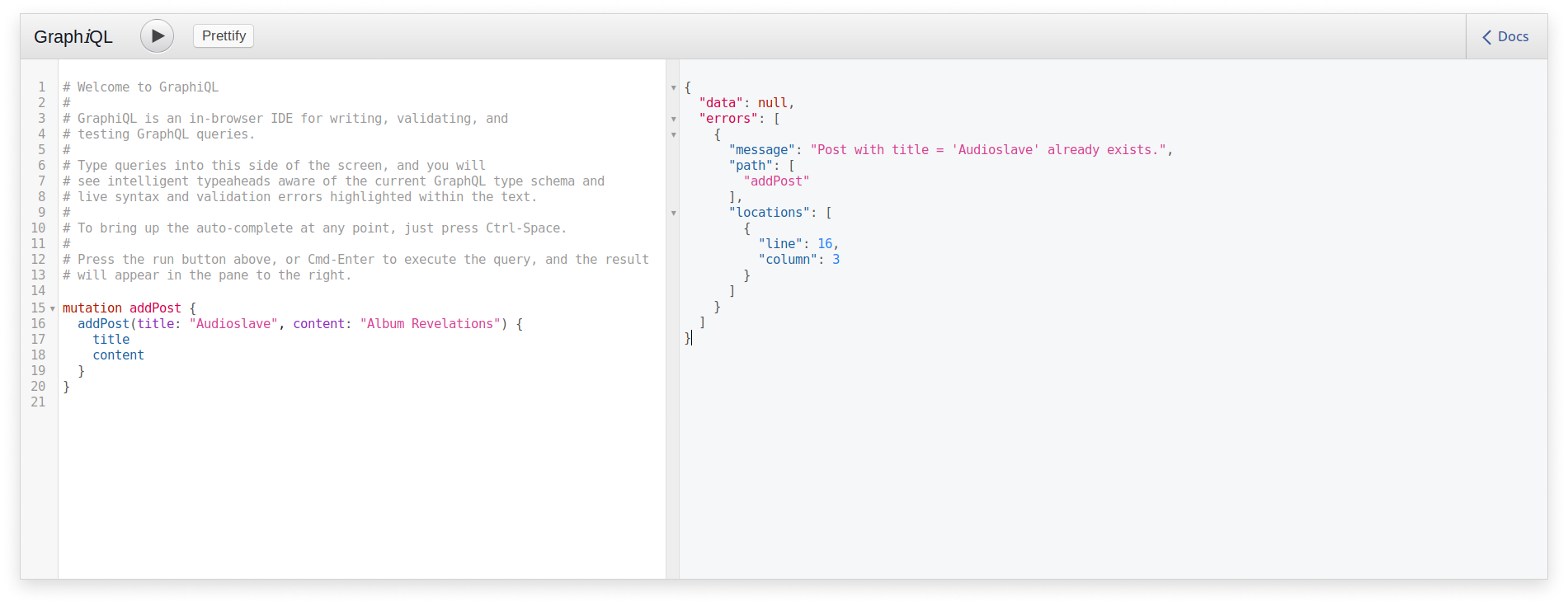 Error Handling in a GraphQL API built with Scala and Sangria
